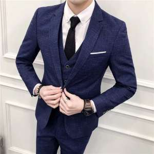 韩版修身西服套装