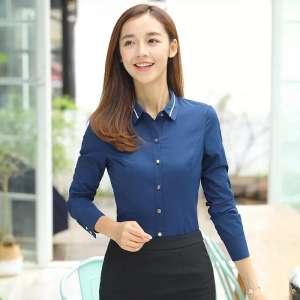 条纹女衬衫