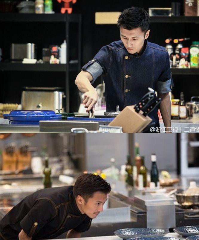 厨师东莞工作服 秋装长袖 西餐厅12道锋味 三餐饮酒店厨师服长袖CSF709