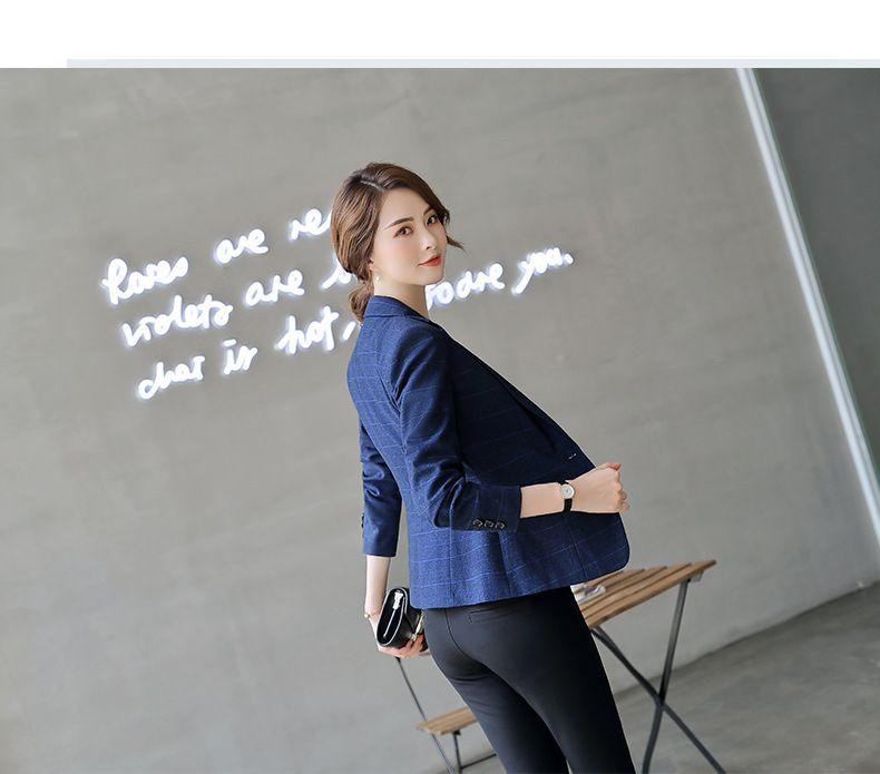 优惠爆款 时尚秋冬 显瘦气质 教师高层管理技师白领OL通勤职业西装女